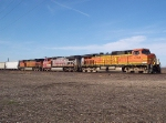 BNSF 4166 BNSF 923 BNSF 5042